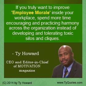 employee morale professional development and leadership